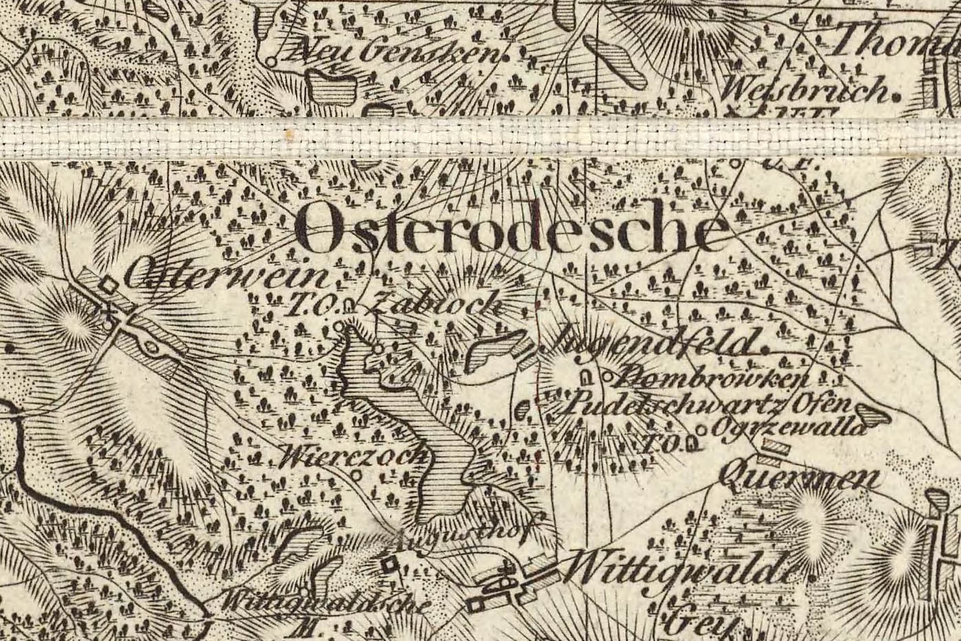 Ostrowin Mapa